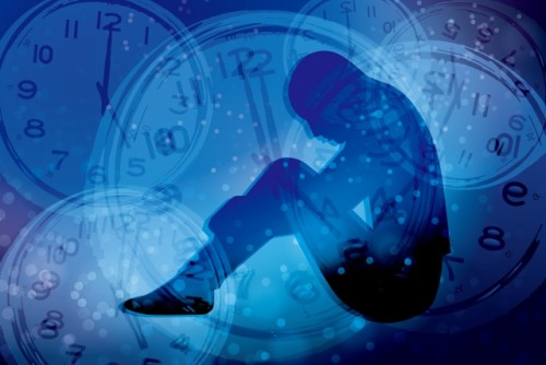 ストレス 時計